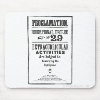 Proklamation 29 mauspad