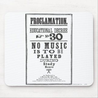 Proklamation 30 mousepad