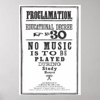 Proklamation 30 posterdrucke