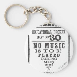 Proklamation 30 standard runder schlüsselanhänger