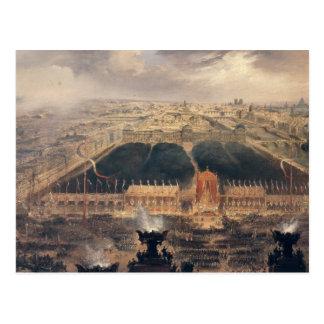 Proklamation der zweiten Republik, 1848 Postkarte