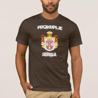 Prokuplje, Serbien mit Wappen T-Shirt