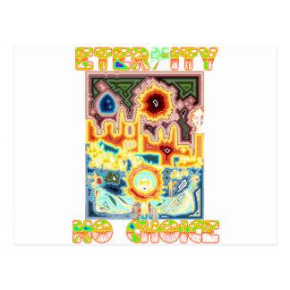 Prolife Jungfrau-Mary-Zeugnis Postkarte