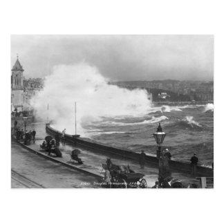 Promenade bei Douglas, Anfang des 20. Jahrhunderts Postkarte