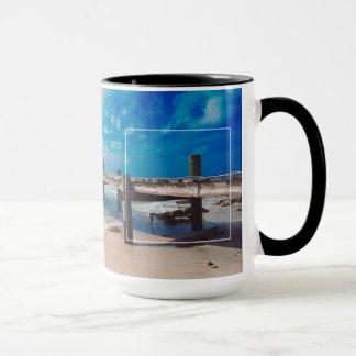 Promenade durch das Meer Tasse
