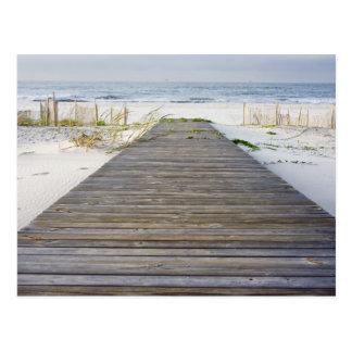 Promenade, zum der Karten auf den Strand zu setzen