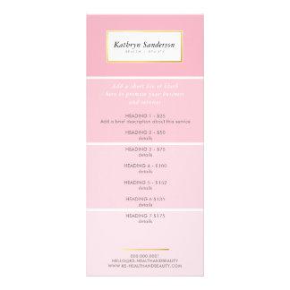 PROMO-PREIS HÄLT modernen rosa Farbenchip der Bedruckte Werbekarten