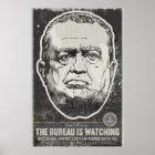 Propaganda-Druck FBI J Edgar Hoover Poster