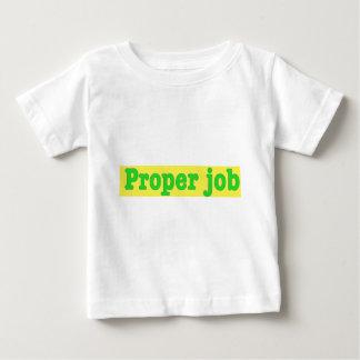 Properjob Baby T-shirt