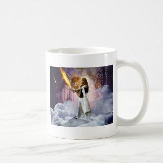 prophetische Kunst geschaffen von Dolores DeVelde Kaffeetasse