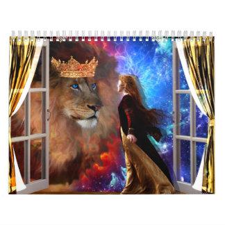 prophetische Kunst von 2013 Kalender durch Dolores