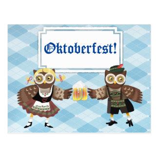 Prost! Wir Feiern Oktoberfest Postkarte