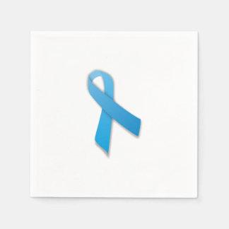 Prostatakrebs-Band-Servietten Papierserviette