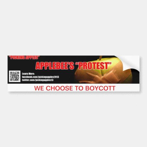 Protest-Autoaufkleber: Reihe eine