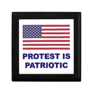 Protest ist patriotisch erinnerungskiste