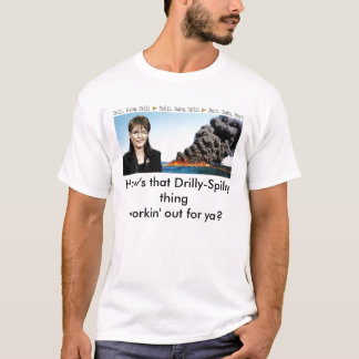 Protest-Shirt Sarahs Palin BP T-Shirt
