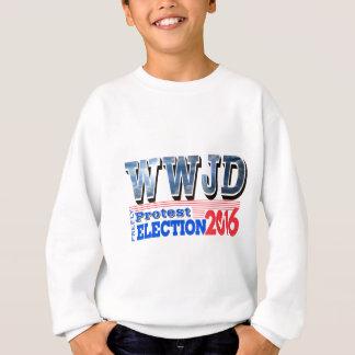 PROTEST-Wahl 2016 WWJD Sweatshirt