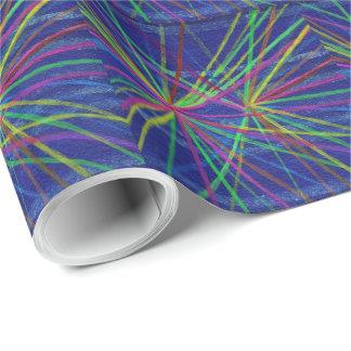 Proton-Zusammenstoß-Geschenk-Packpapier Geschenkpapier