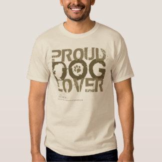 proud dog lover tshirt