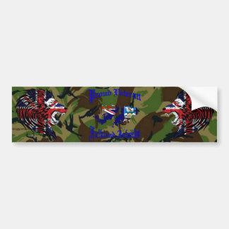 Proud Veteran ..... Falklands Autoaufkleber