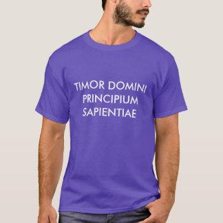 Prov. 1:7 Camisia T-Shirt