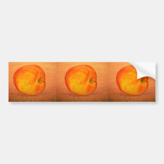 Provence Apple Autoaufkleber