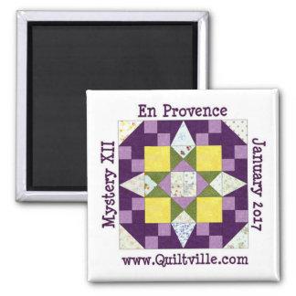 Provence-Magnet Quadratischer Magnet