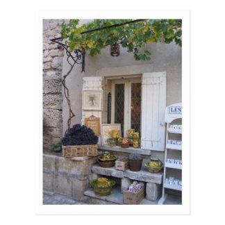 Provence-Speicher-Fronten-Anzeige Postkarte