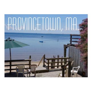 Provincetown Massachusetts Postkarte