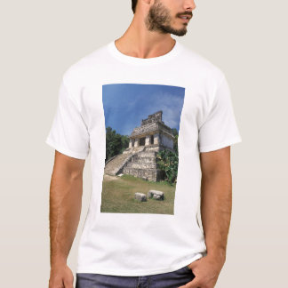Provinz Mexikos, Chiapas, Palenque. Tempel von T-Shirt