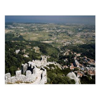 Provinz Portugals, Lissabon, Sintra, Ansicht von Postkarte