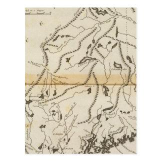 Provinz von Maine 2 Postkarte