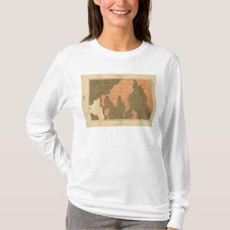 Provinz von Neuschottland-Insel von Kap-Bretonen T-Shirt