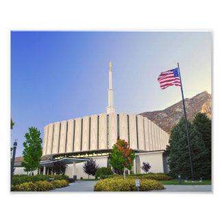 Provo, Tempel Utahs LDS Fotodruck
