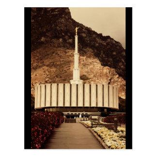 Provo, Tempel Utahs LDS Postkarte