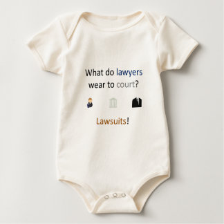 Prozess-Witz Baby Strampler