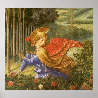 Prozession der Weisen, Renaissance-Engels-Kunst Poster