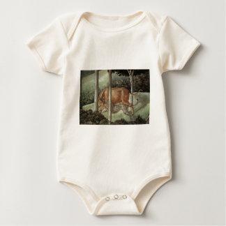 Prozession des Weisen Caspar (Detail) durch Baby Strampler