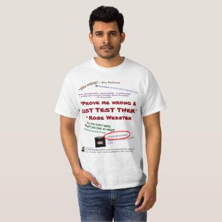 Prüfen Sie mich, dass falsch sie einfach durch T-Shirt