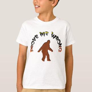 Prüfen Sie mich falsch T-Shirt