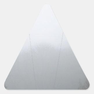 prüfen Sie Stöße Dreieckiger Aufkleber