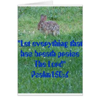 Psalm-105:6, Lebewesen Karte