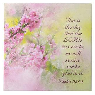 Psalm-118:24 ist dieses der Tag, den der Lord Keramikfliese