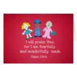 Psalm-139:14 Karte