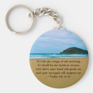 Psalm-139:9 - SCHÖNES BIBLISCHES ZITAT 10 Schlüsselanhänger