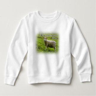 Psalm-23:1 Kleinkind-Sweatshirt Sweatshirt