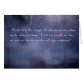 Psalm-23:4 Karte