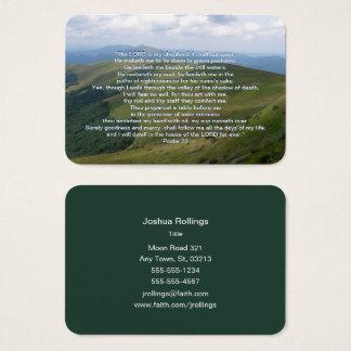 Psalm 23 - Christlich Visitenkarte