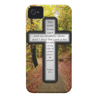 Psalm-27:1 iPhone 4 Case-Mate Hülle