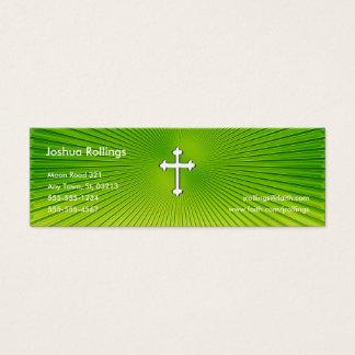 Psalm 37; 4-5 - Christliche Geschäfts-Karte Mini Visitenkarte